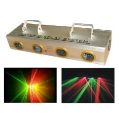 Red and Green four head laser light(WS-PT004)
