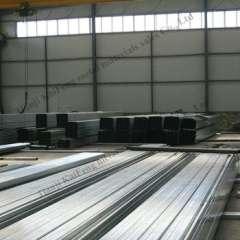 Expert manufacture galvanized steel c channel sizes