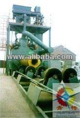 steel pipe inner\outer wall shot blast cleaning machine
