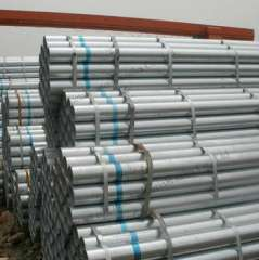 BS1387 dn15 Hot Dipped Galvanized Steel Pipe