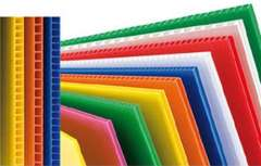 pp corrugated plastic sheet