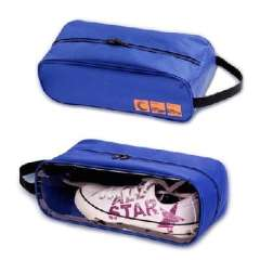 Travel must sunroof visual type shoe | breathable shoes bag | Blue