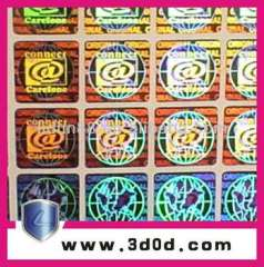 2d\3d laser hologram sticker\anti-fake labels