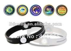 2012 San Francisco Power core Silicone Bracelet\Wristbands in Hologram