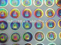 customized 2d\3d Security Hologram label sticker