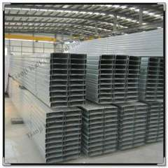 Supply Q235 galvanized c metal roofing products