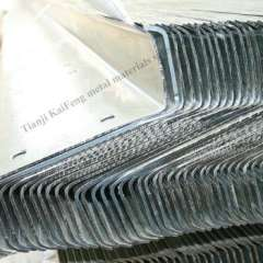 Q235 galvanized steel z purlin for agricultural building