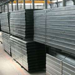 Q235 galvanized steel C purlin sizes