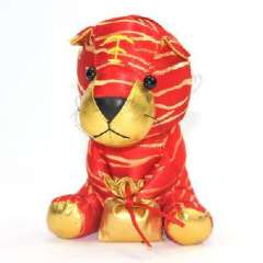 Large cloth embroidered with a suction cup New Year tiger doll / car accessories