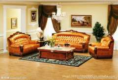 High-end European-style sofa | Hotel sofa | Solid wood sofa | leisure club sofa