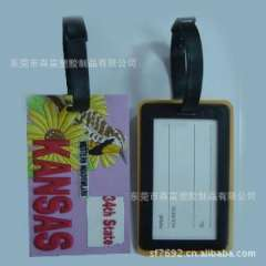 Supply build all kinds of PVC luggage tag luggage tag airplane factory supply silicone luggage tag luggage tag animals