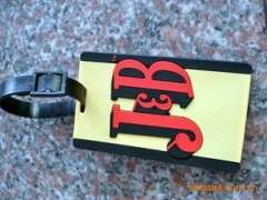 Serves creative new fine luggage tag