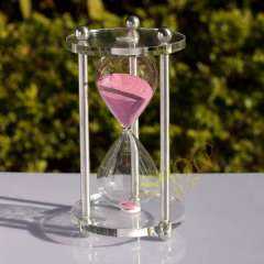 One hour hourglass Large hourglass engraving gift crystal hourglass