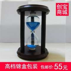Hourglass timer birthday gift new year gift quality wool