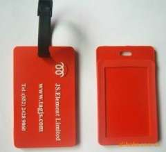 Dongguan factory OEM supply pvc / silicone luggage tag Wholesale