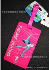 2014 Winter Olympics sports image logo luggage tag | all movement on behalf of luggage tag | Order now
