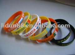 Paypal, 2012 Company offer customized silicone ring\wristband