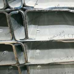 Q235 galvanized steel c steel channel sizes for warehouse