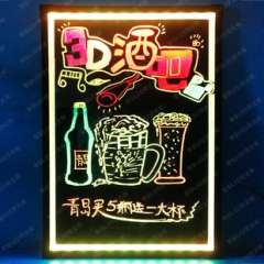VG70 50 LED fluorescent plate | handwriting advertising board | E-POP board