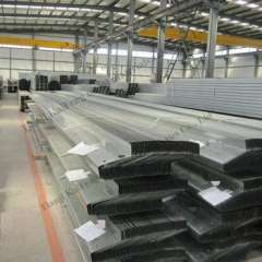 Q235 Z purlin for steel engineering use