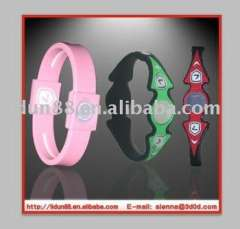 Model 127 Los Angeles Lastest Wholesales silicone bracelets\Greece Energy Silicone Wristbands