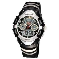 St. hundred cattle casual sports watch | multifunction dual display table | Waterproof watch | Authentic