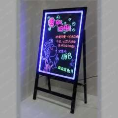 Hot / long side light source blackboard | electronic fluorescent board | tablet led advertising board / fluorescence plate prices