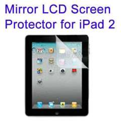 Mirror LCD Screen Protector for iPad 2