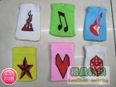 Guitar | dice | dice | notes | Heart | flame | 3D pentagram pattern phone package