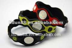 2012 Hot balance and flexibility rubber new butterfly bracelet
