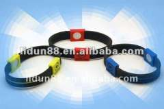 2012 Environmental silicone energy ion strong balance powercore bracelet