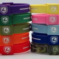 multi-color healthy silicone ion rubber band