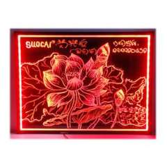 Hot Toys steel LED fluorescent board VK8060 colorful billboards | writing board / fluorescence plate prices