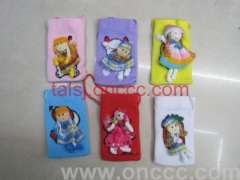 Doll | Little cartoon monolayer cell phone Pocket
