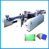 PE, PP, PS, PVC, ABS, PMMA, PC board sheet production line