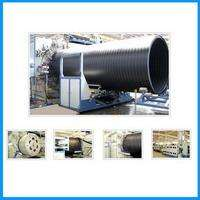 HDPE large-caliber hollow-wall winding pipe production line