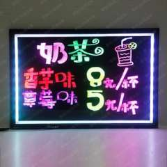 Hot / UK4030 | electronic fluorescent handwriting board / advertisement fluorescence plate / colorful fluorescent plate / fluorescent plate prices
