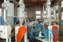 Co-extruded PP-R hot water pipe equipment