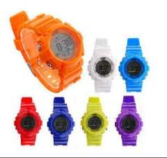 Time US fashion full touch screen LED waterproof sports watch