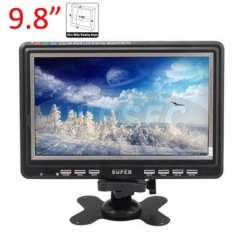 9.8' TFT LCD Screen Wide View Angle Color Digital TV\Monitor HD-V980
