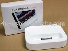 For iPhone 4G Dock Cradle Charger Station