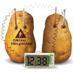 Matter Conversion powered potato clock / bell fruit