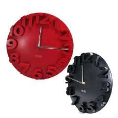 Three-dimensional digital wall clock / Art clock | Random Color