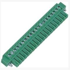 3.5MM Female Terminal Blocks Connectors For Load Control Systems Rohs UL Green