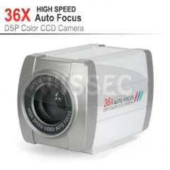 CCTV 500TVL SONY CCD 36X Optical Zoom DSP Color Video Camera Auto Focus