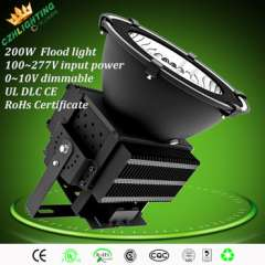 High lumens top quality 200w led high bay light, warranty 5 years ip65 led flood light