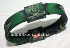 2012 charm rubber bracelets with energy balance function