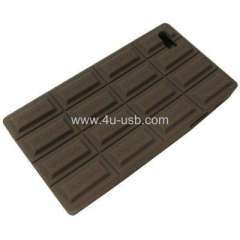 Chocolate Style Silicone Case for iPhone 4