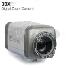 420TV Lines, 30X High Speed Color To B\W, Medium Resolution Vari Focal Zoom BOX Camera
