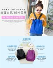 2015 Winter Korean version waterproof nylon oxford cloth canvas leisure travel backpack